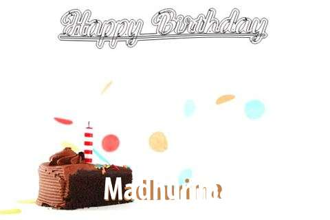 Happy Birthday Cake for Madhurima