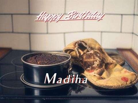 Happy Birthday Madiha Cake Image