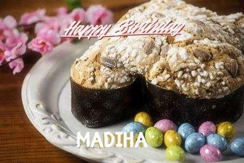 Happy Birthday Cake for Madiha