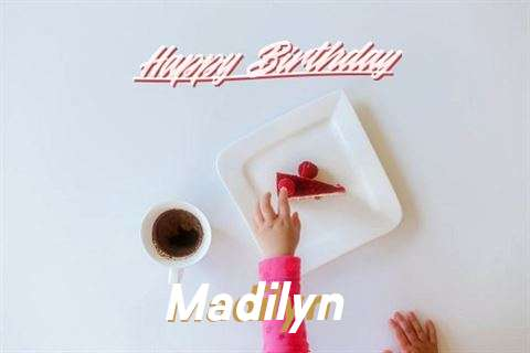 Happy Birthday Madilyn Cake Image
