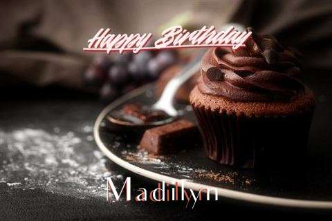 Happy Birthday Cake for Madilyn
