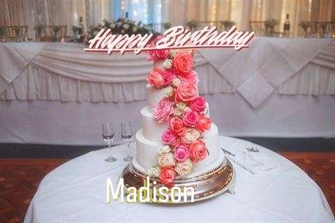 Happy Birthday to You Madison