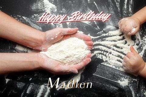 Happy Birthday Madlen Cake Image