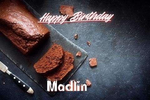 Happy Birthday Madlin Cake Image