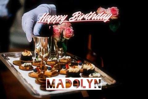 Happy Birthday Cake for Madolyn