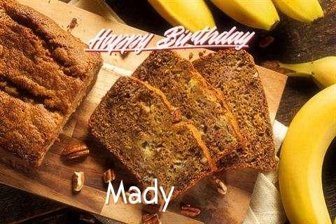 Happy Birthday Wishes for Mady