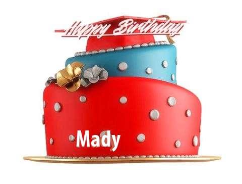 Happy Birthday to You Mady