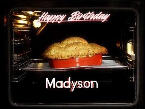 Happy Birthday Cake for Madyson