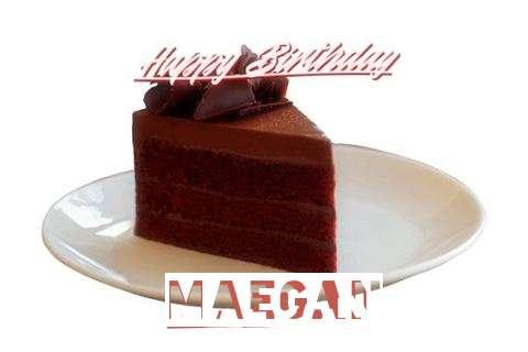 Happy Birthday Maegan Cake Image