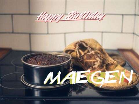 Happy Birthday Maegen Cake Image