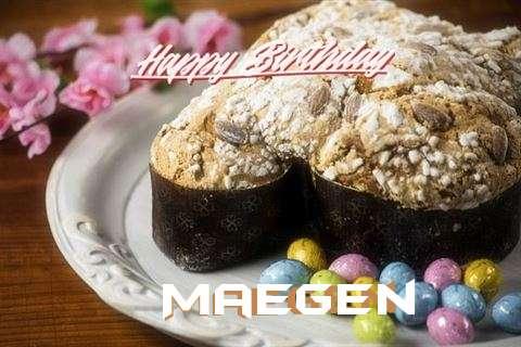 Happy Birthday Cake for Maegen
