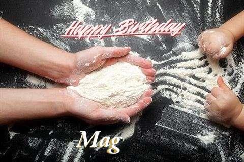 Happy Birthday Mag Cake Image