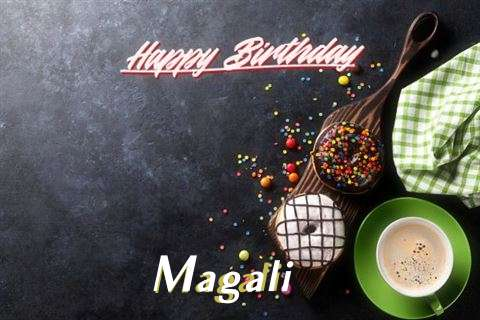 Happy Birthday Cake for Magali