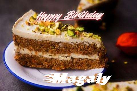 Happy Birthday Magaly Cake Image