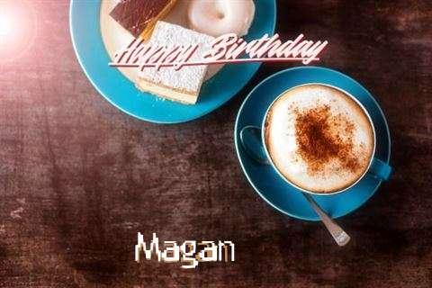 Happy Birthday to You Magan