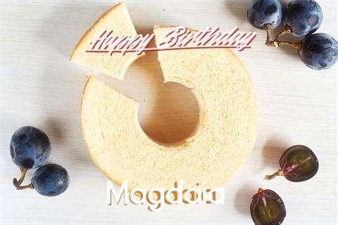 Happy Birthday Wishes for Magdaia
