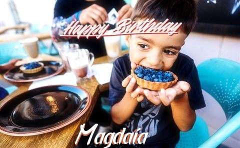 Happy Birthday to You Magdaia