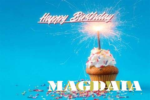 Happy Birthday Cake for Magdaia