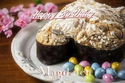 Happy Birthday Cake for Magdalen