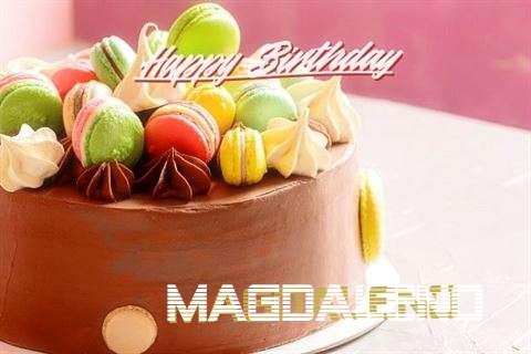 Happy Birthday Magdaleno