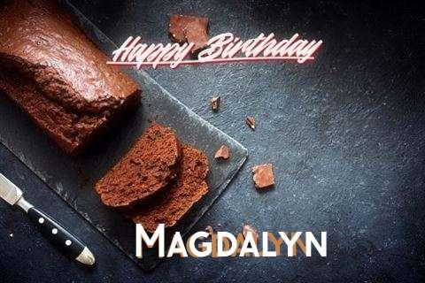 Happy Birthday Magdalyn Cake Image