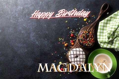 Happy Birthday Cake for Magdalyn