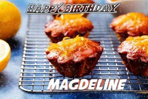Happy Birthday Cake for Magdeline