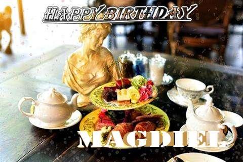 Happy Birthday Magdiel Cake Image