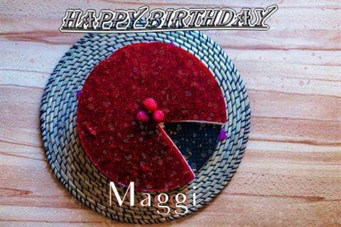 Happy Birthday Wishes for Maggi