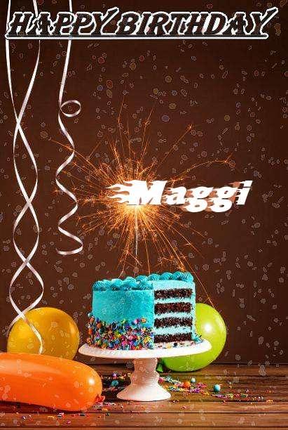 Happy Birthday Cake for Maggi