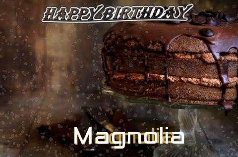 Happy Birthday Cake for Magnolia