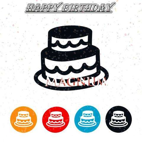 Happy Birthday Magnum Cake Image