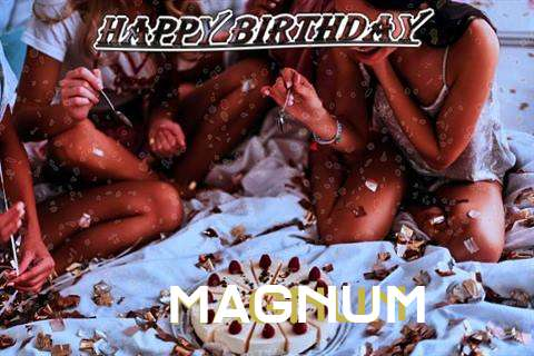 Happy Birthday Cake for Magnum