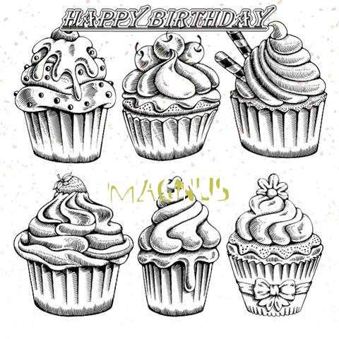 Happy Birthday Cake for Magnus