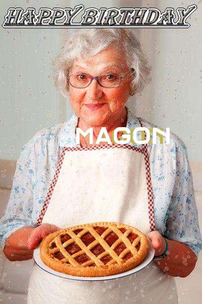 Happy Birthday to You Magon