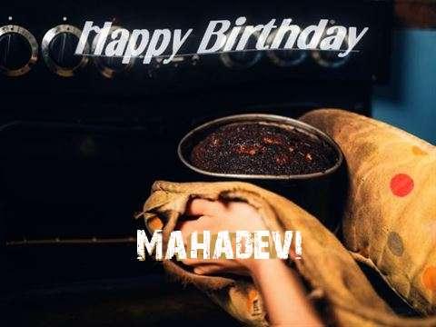 Happy Birthday Cake for Mahadevi