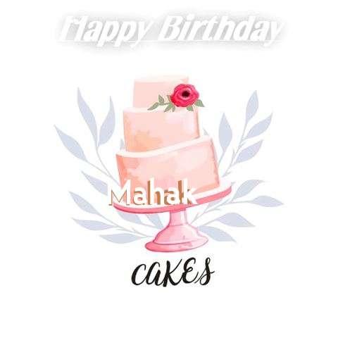 Birthday Images for Mahak