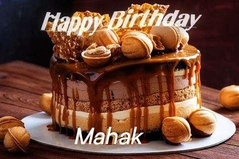 Happy Birthday Wishes for Mahak