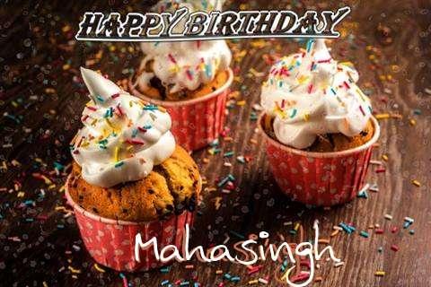 Happy Birthday Mahasingh Cake Image