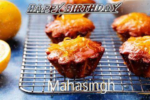Happy Birthday Cake for Mahasingh