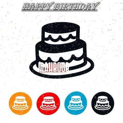 Happy Birthday Mahboob Cake Image
