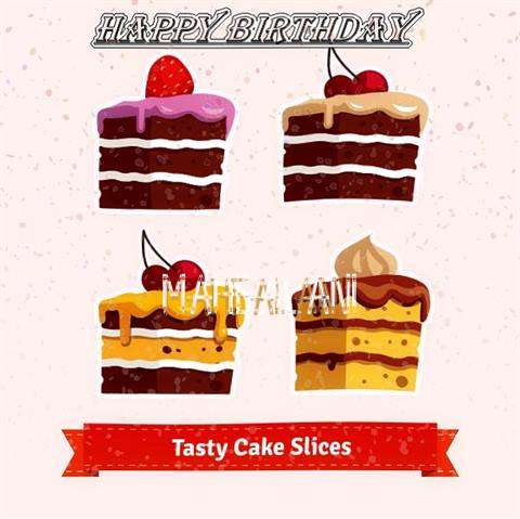 Happy Birthday Mahealani Cake Image