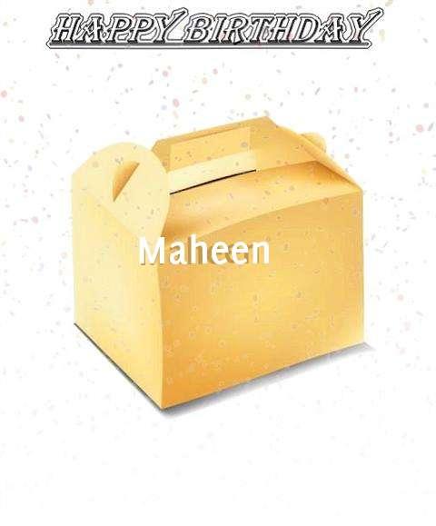 Happy Birthday Maheen