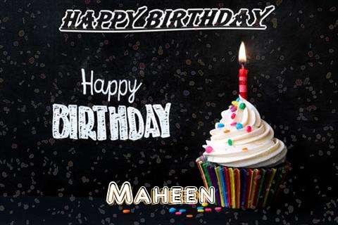 Happy Birthday to You Maheen