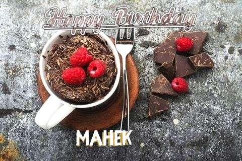 Happy Birthday Wishes for Mahek