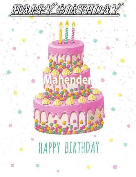 Happy Birthday Wishes for Mahender