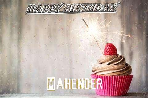 Happy Birthday to You Mahender