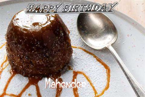 Happy Birthday Cake for Mahender
