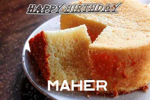 Maher Birthday Celebration