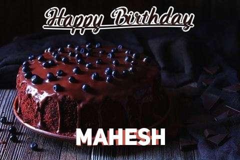 Happy Birthday Cake for Mahesh
